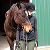 PHOTO: Jessa Lampe and horse